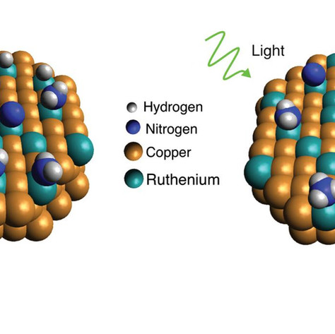Light makes Rice University catalyst more effective