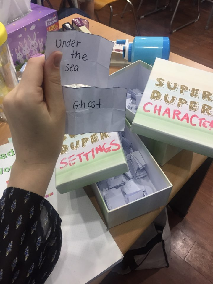 The 'Crazy Story Boxes'