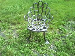 petit fauteuil fer à cheval
