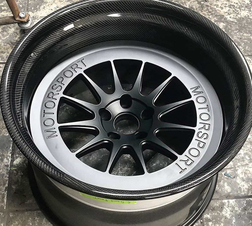 Forged Magnesium 3 piece wheel