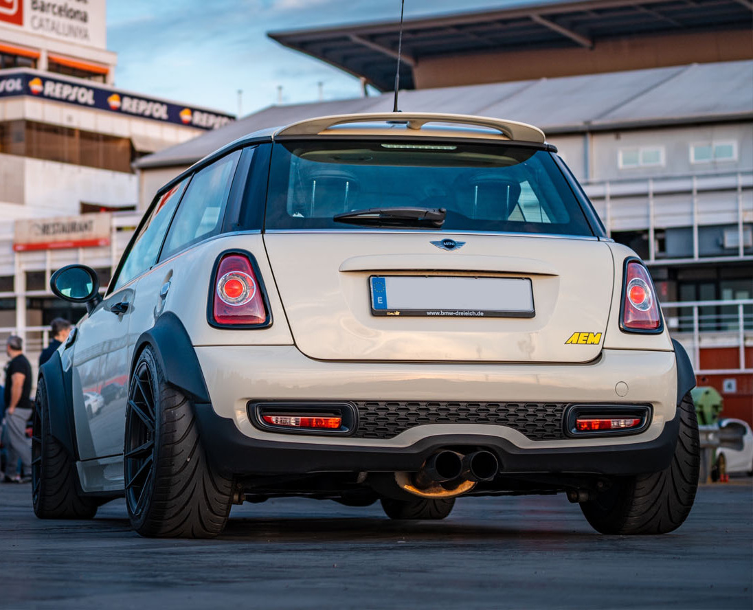 Cooper S vad R56 Flares