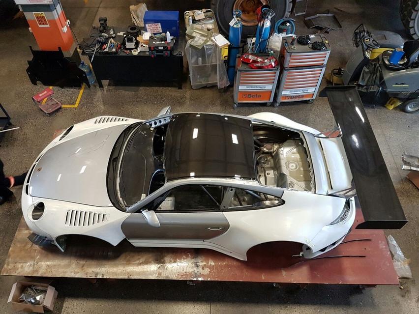 Porsche GT3R Top Shot