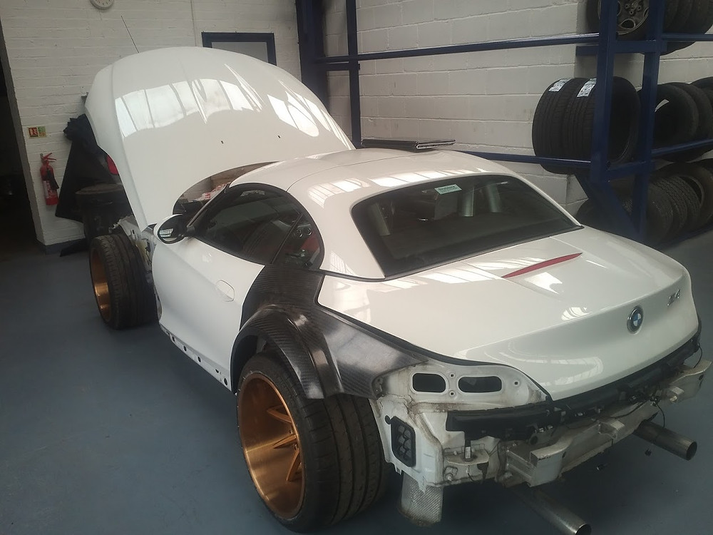 BMW Z4 (E89) GT3 V8 LS3 Road Conversion