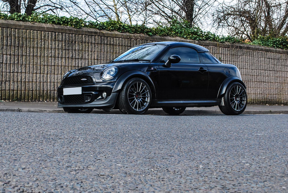 Mini R58 Coupe 25mm & 35mm Flares