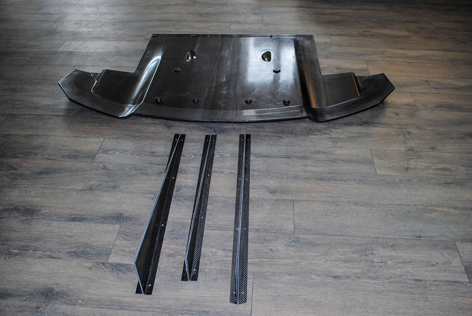 R35 GTR Rear Diffuser with Strakes