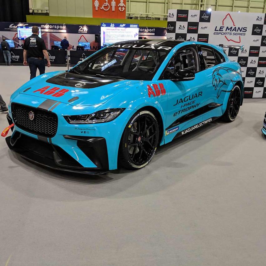 Jaguar  iPace Race Car