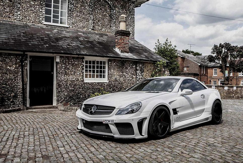 MercedesSL Blac Series Look