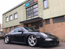 Old and New Porsche 997 Slant Nose