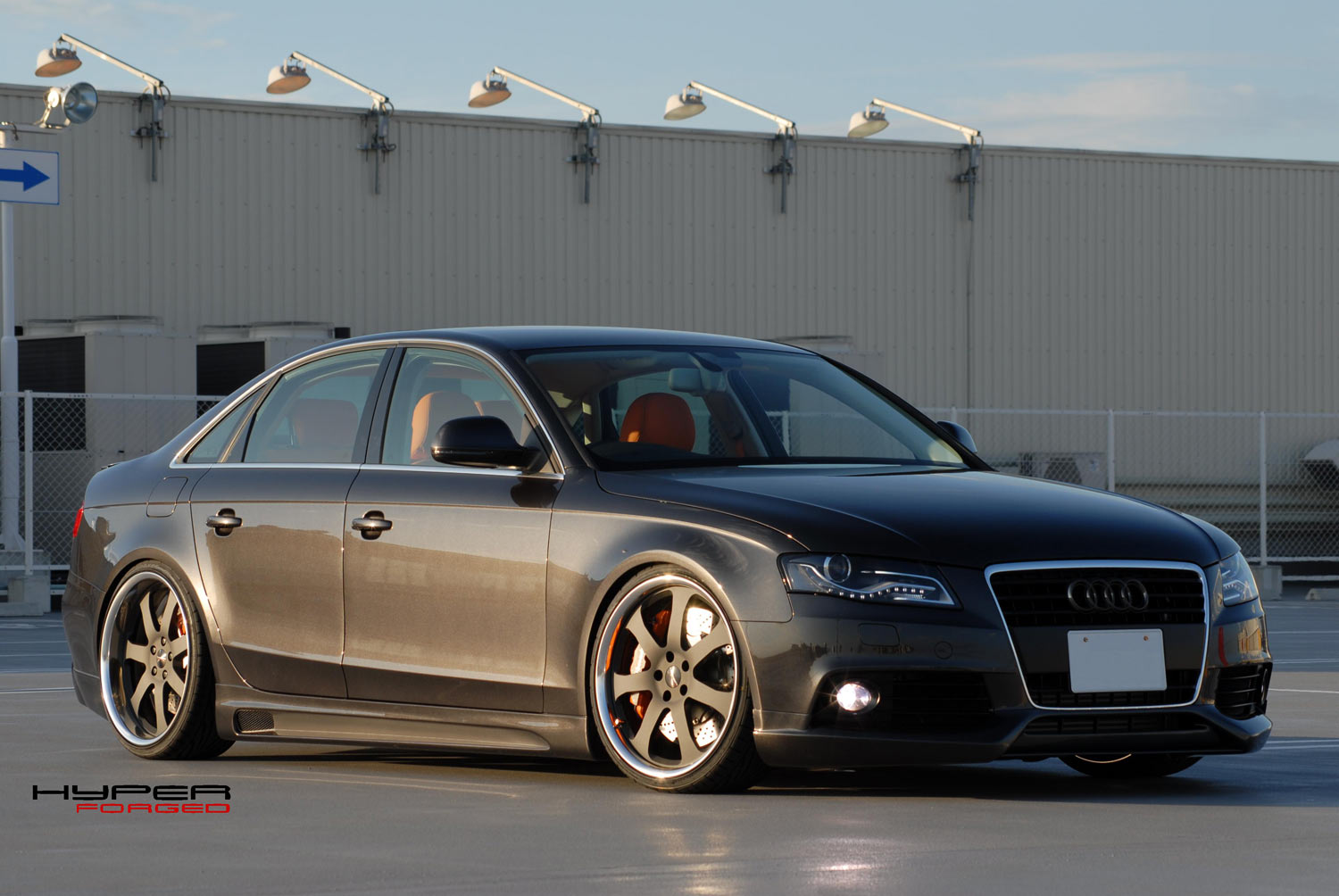 Audi S4 Fitted with 20'' HF_CF27S