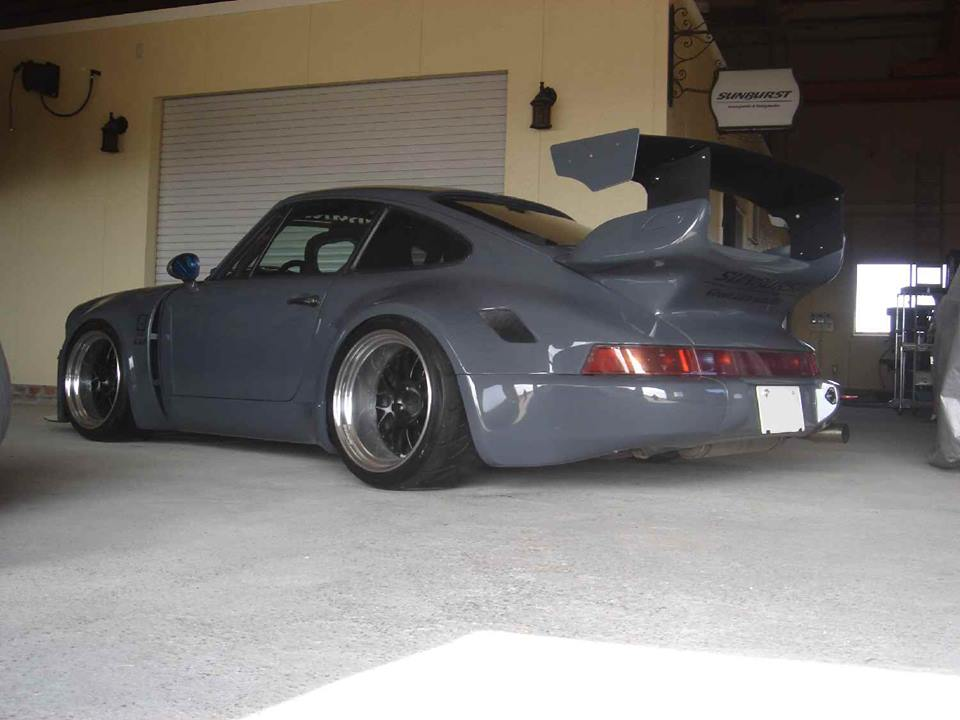 Porsche 964 Wide Body Rear