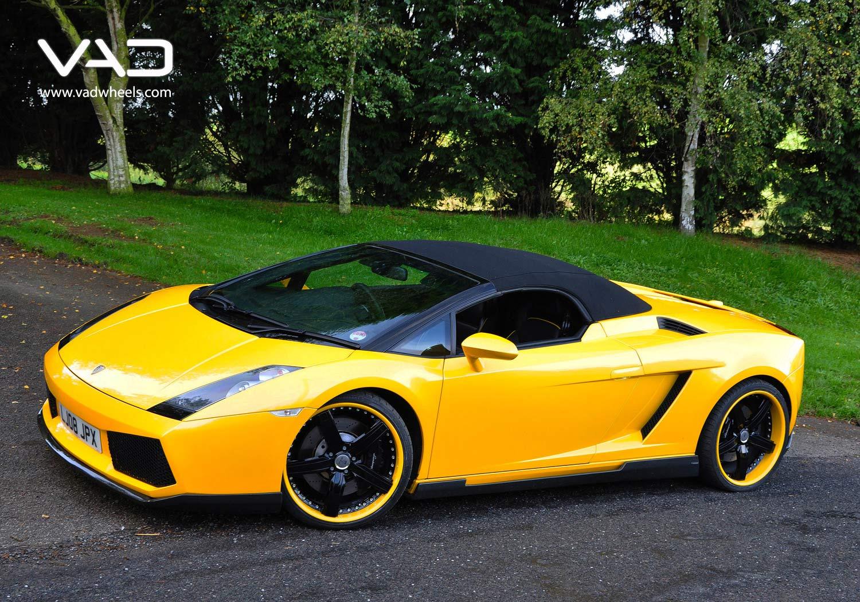 Lamborghini-Gallardo-Yellow-Fitted-With-20''-Trafficstar-STR