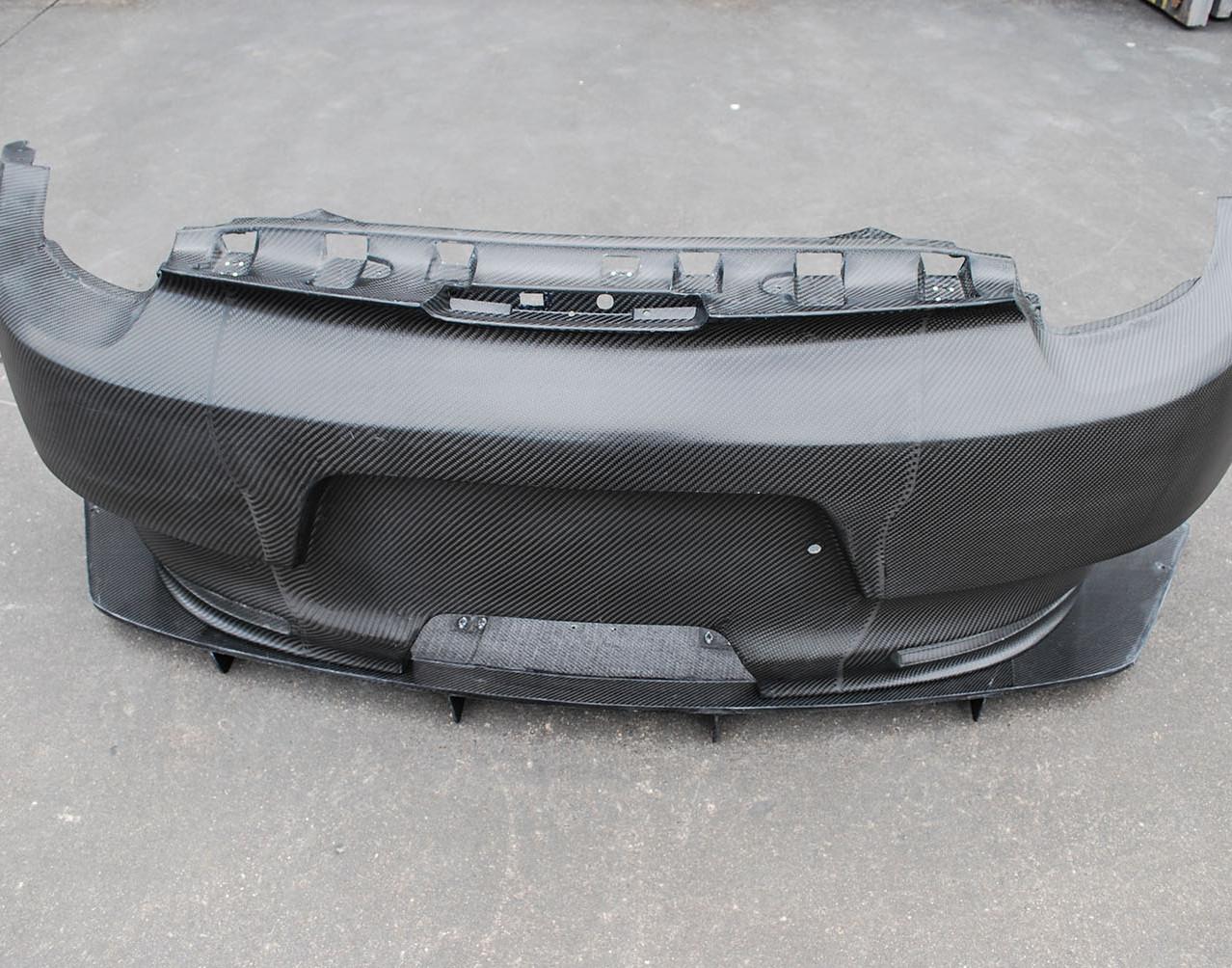 Cayman RSR Rear Bumper_Diffuser