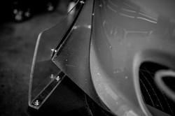 Front Bumper Carbon Canards