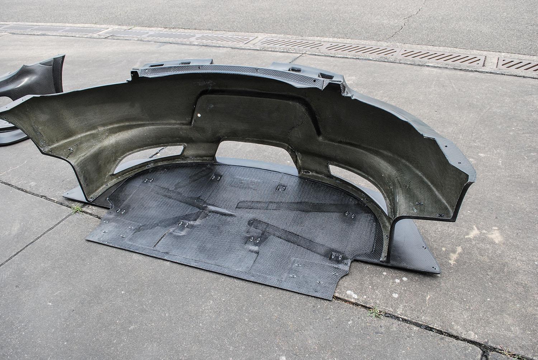 Cayman RSR Rear Bumper_Diffuser_inside