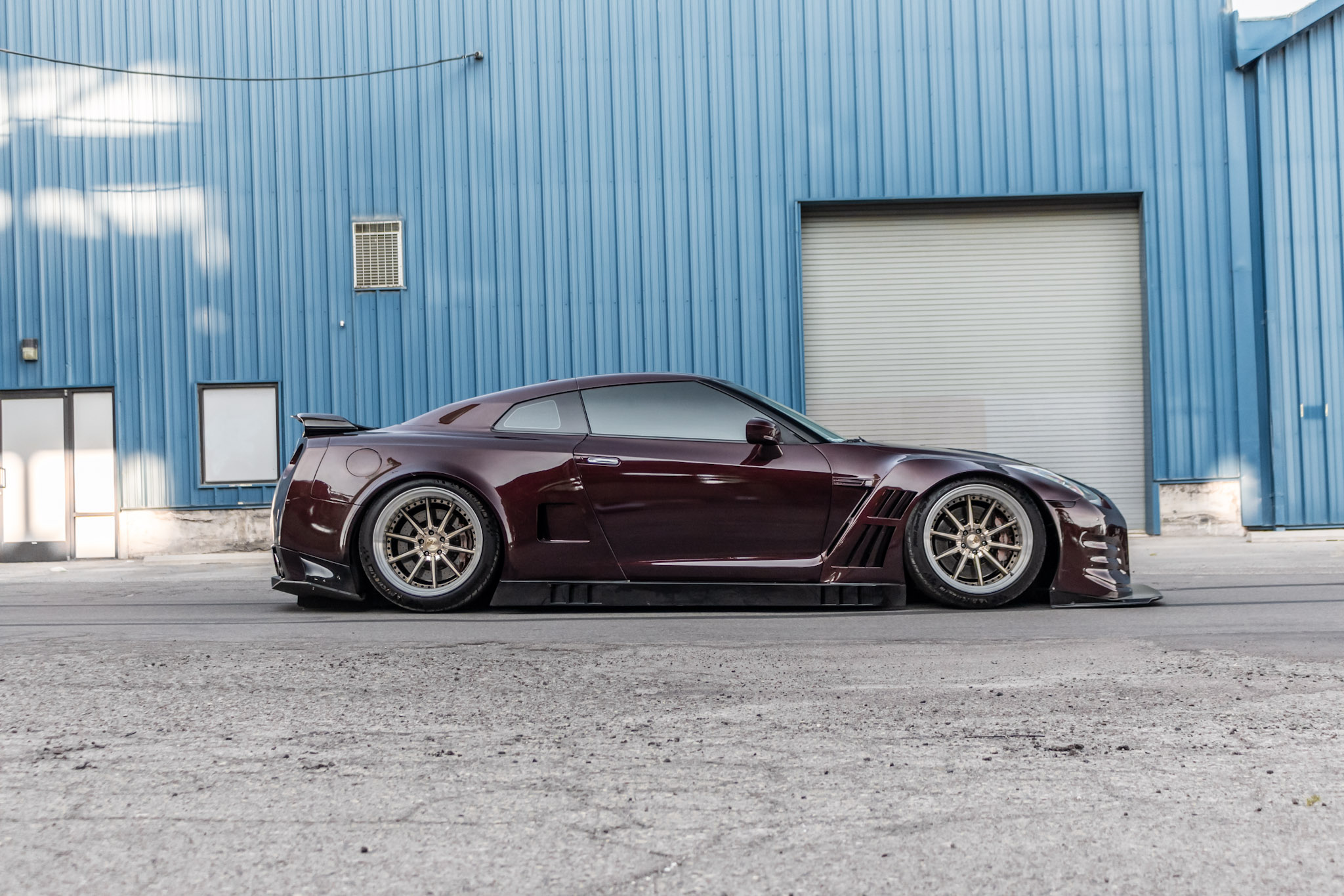 Nissan_ GTR_ GT3_Wide Body