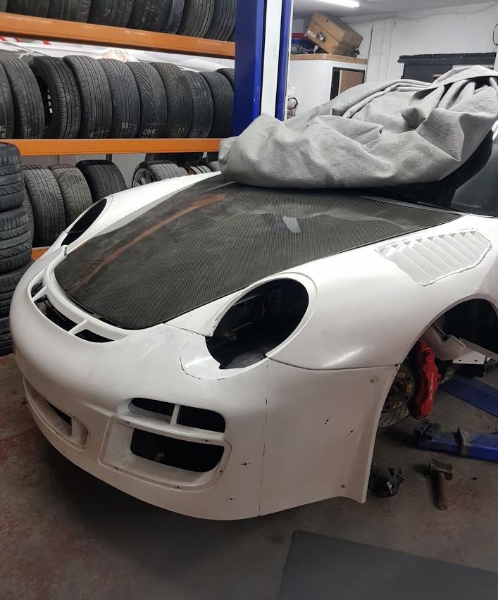 Speedwells_ Porsche 997 Turbo Front end GT3R Mock Up