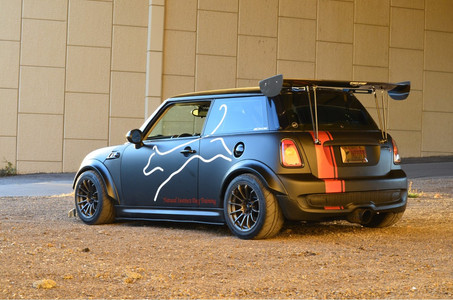R56 Mini Flares 25 mm Front 30 mm Re