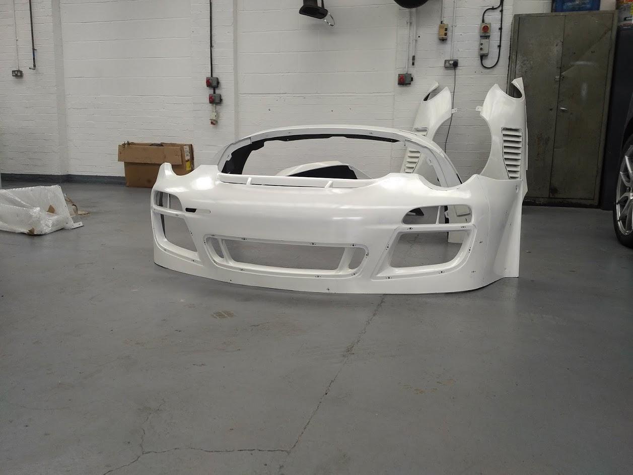 Porsche 997 front bumper