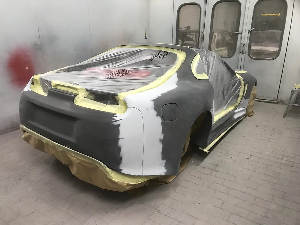 Sean Reid and his Speedwells Wide Body Supra in Prep