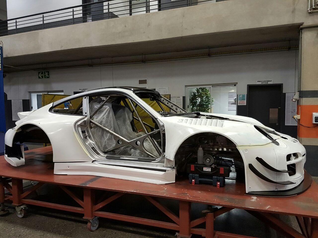 Porsche 996 to 997
