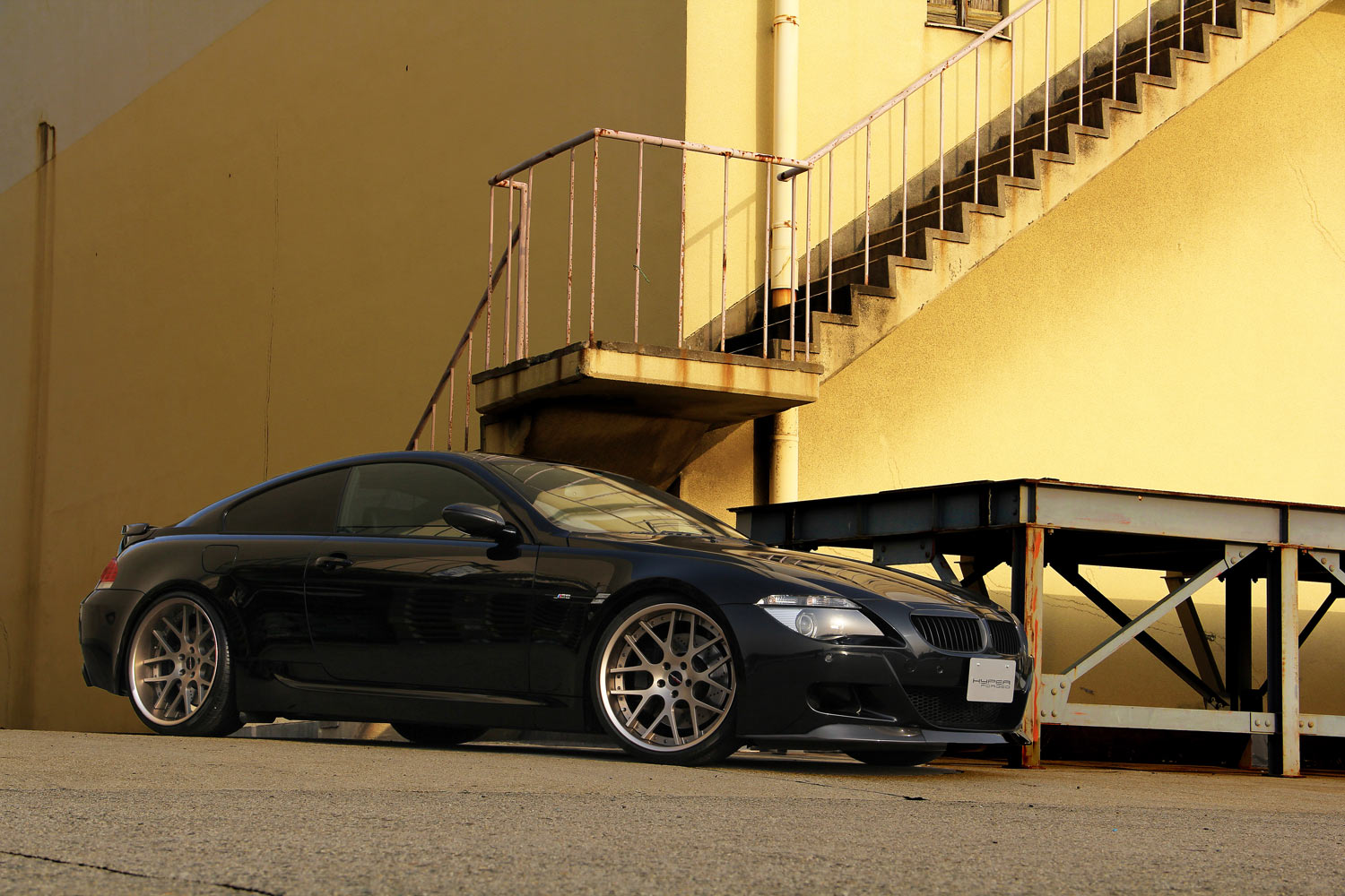 BMW M6 Fitted with 21'' HF_C7