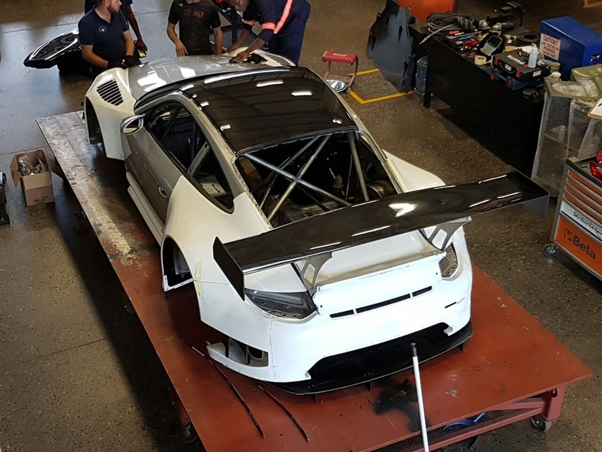 Porsche GT3R Rear