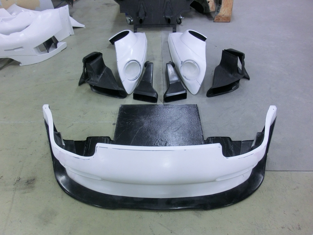 Porsche 993 GT2 Evo Aero kit