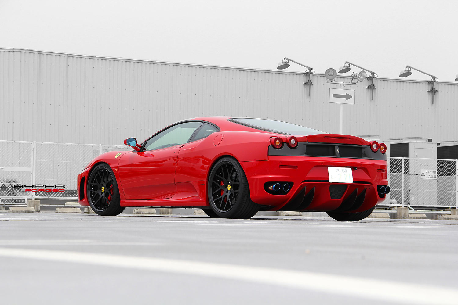 Ferrari F430 Fitted with 20'' HFC7