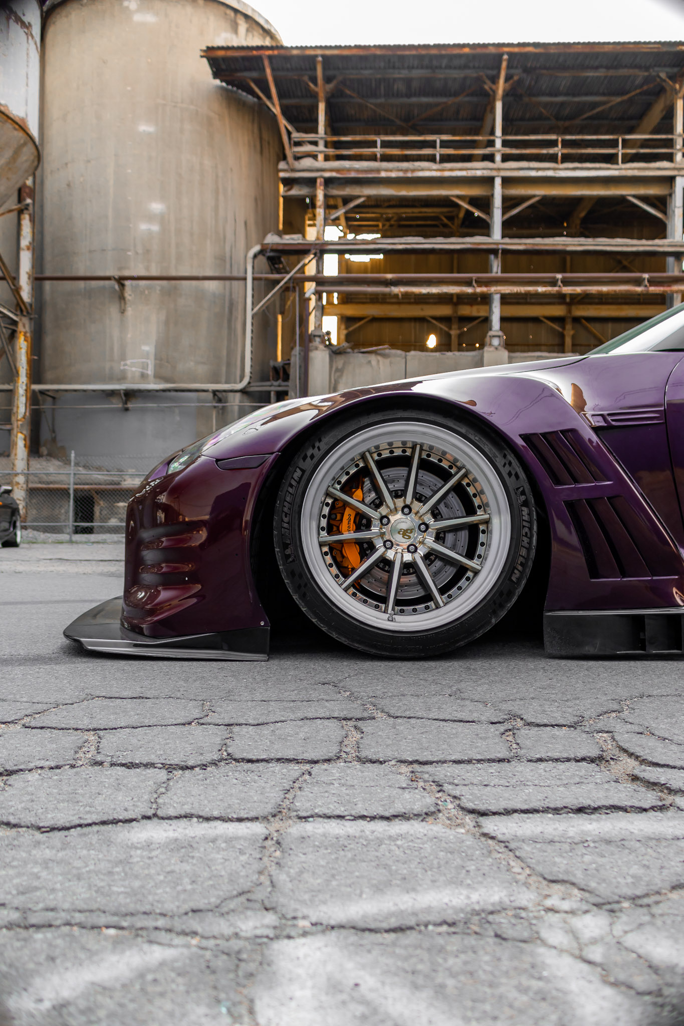 Nissan GTR GT3_Front Vented Fender
