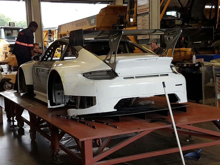 Porsche GT3R Rear View