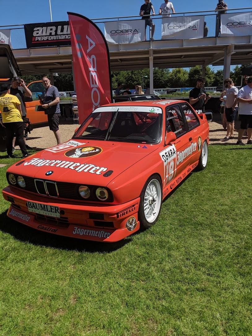 E30 m3 Goodwood Motor Circuit
