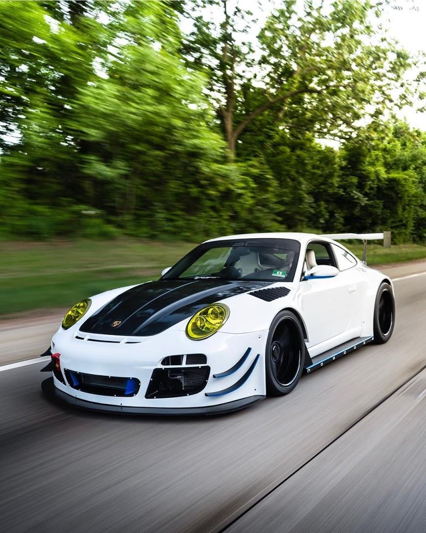 Porsche 997 R13 GT3R