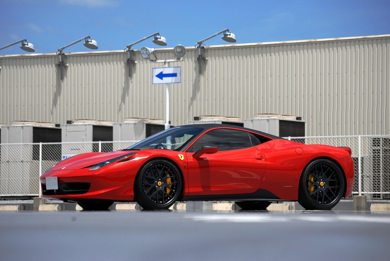 Ferrari 458 Italia Fitted with 21'' Black HFC7