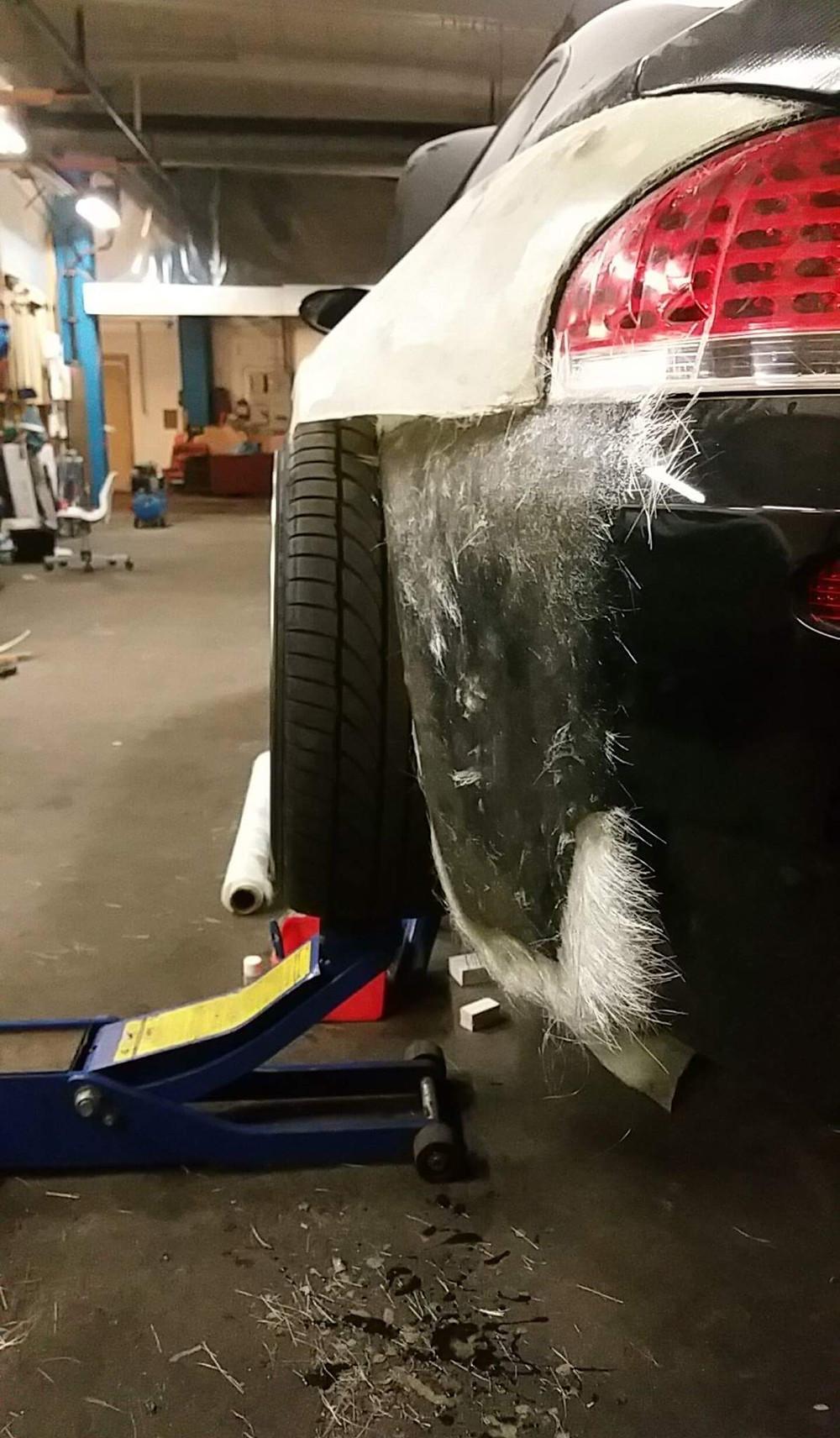 BMW WIDE BODY V10