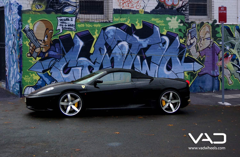 Ferarri-F430-Spider-Black-20''-STR-Black-&-Polished