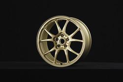T66-F 18inch Flat Gold