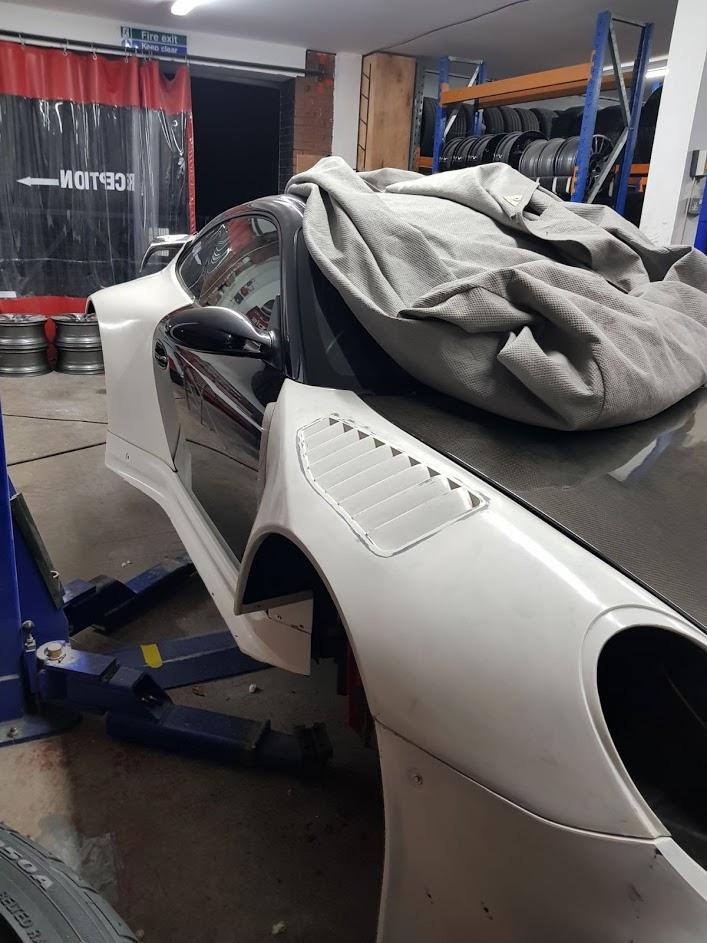 Speedwells Porsche 997 Turbo GT3R
