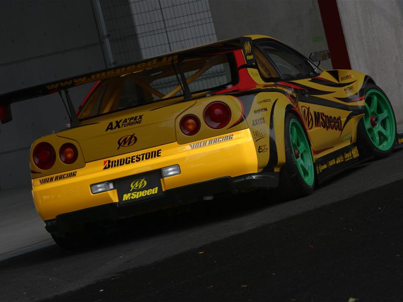 M Speed R34