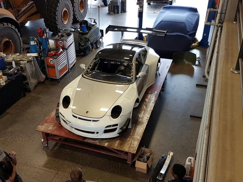 Porsche GT3R Front