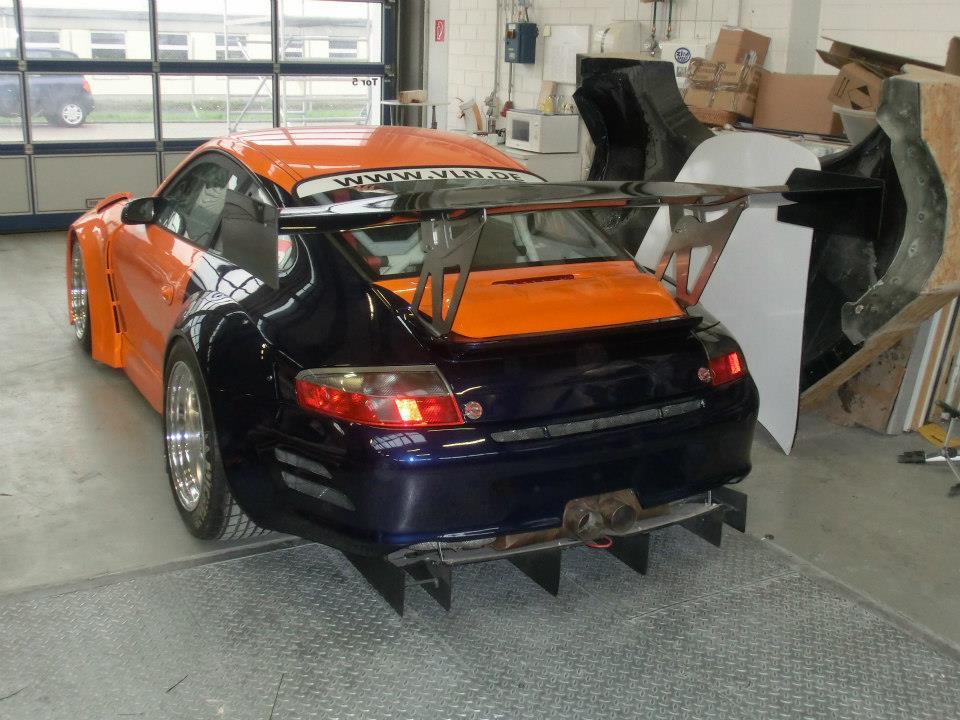 Porsche 996 RSR GT3 Rear