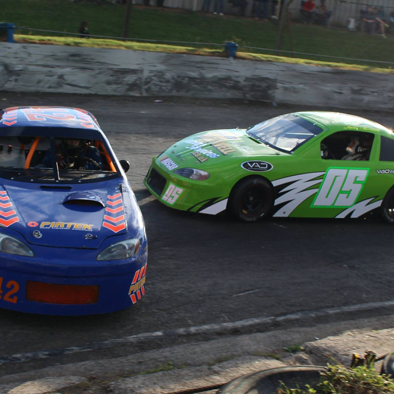 Andy Hartwell 05 Mascar Race Day
