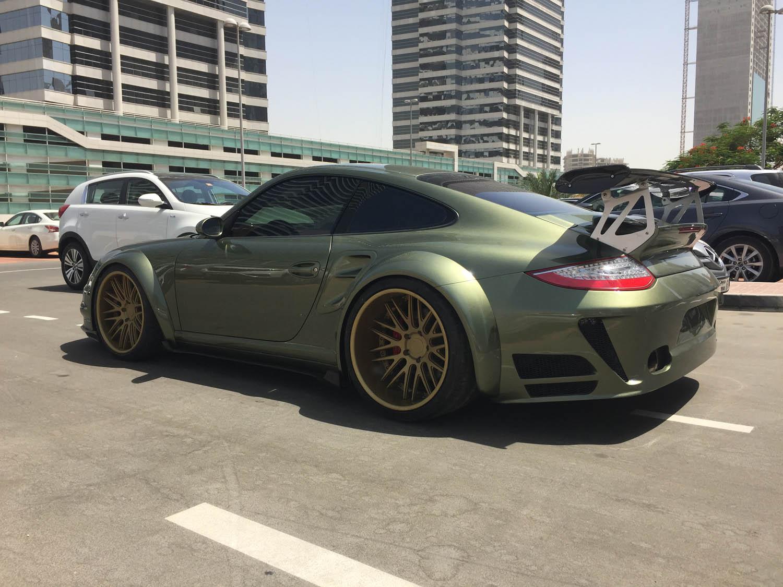 Porsche 997 Turbo Wide Body Rear