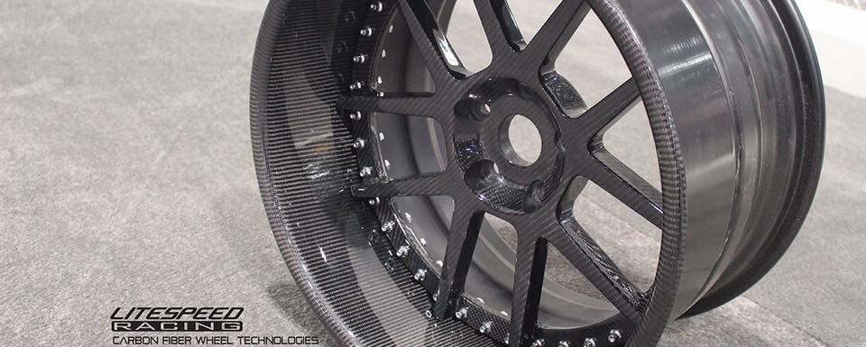 Carbon composite forged wheel