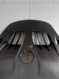 Porsche 991 Front Hood Vents
