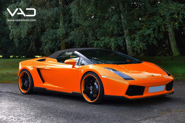 Lamborghini-Gallardo-Orange-Fitted-With-20''-Trafficstar-STR-coded-Rim