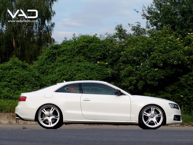 A5- 21'' S250 side shot White & Polished