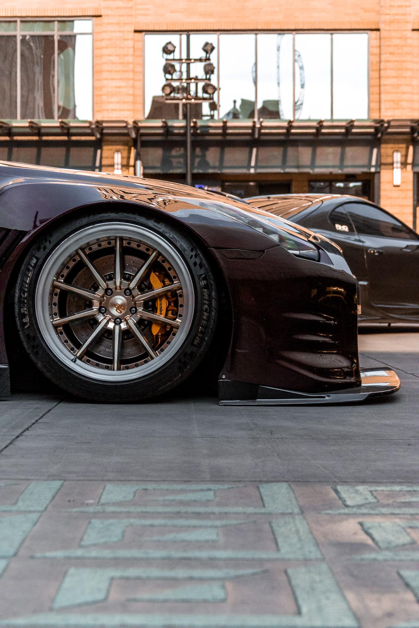 Nissan GTR GT3 Front Splitter
