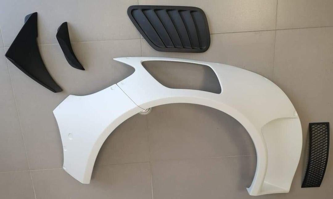 Mercedes GT Wide Body Aero Kit
