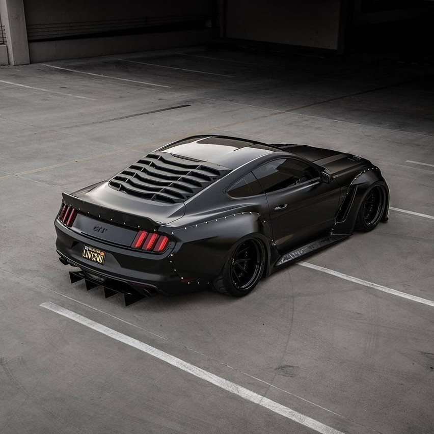 Clinched Mustang Wide Body_18