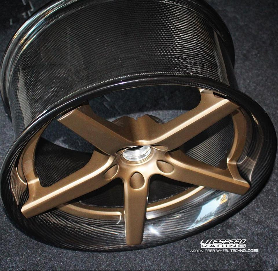 Lite Speed Racing Forged Carbon fibre wheel